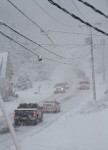 Chester Police responded to the center of town to handle reports of numerous vehicles off the road on Route 102.