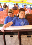 Troop 163 Boy Scouts Jacob Rutledge and John Chicarello