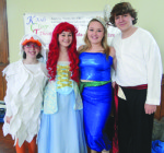 "Pictured are cast members from the upcoming Kids Coop Theatre production of ""The Little Mermaid Jr."" Photo by Penny Williams"